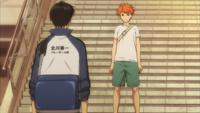 Hinata and Kageyama's final confrontation