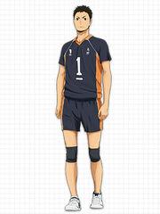 Sawamura Karasuno-Uniform
