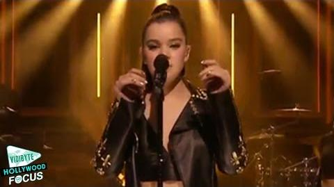 Hailee Steinfeld Performs 'Love Myself' on Tonight Show