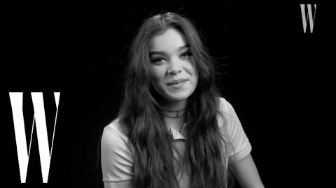 """Hailee Steinfeld's First Kiss Was On Screen """"Yeah, I Was Nervous!"""" W Magazine"""