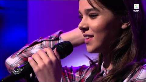 Hailee Steinfeld - Love Myself - Good Morning Norway (09 28 2015)