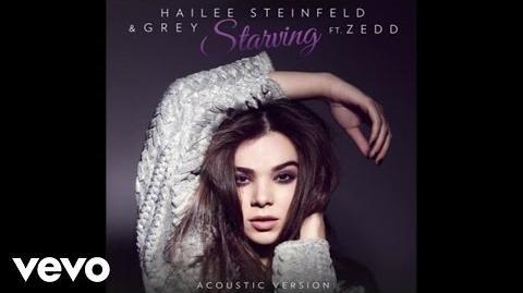 Hailee Steinfeld, Grey - Starving (Acoustic Audio) ft