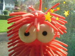 Star Hairy Worm