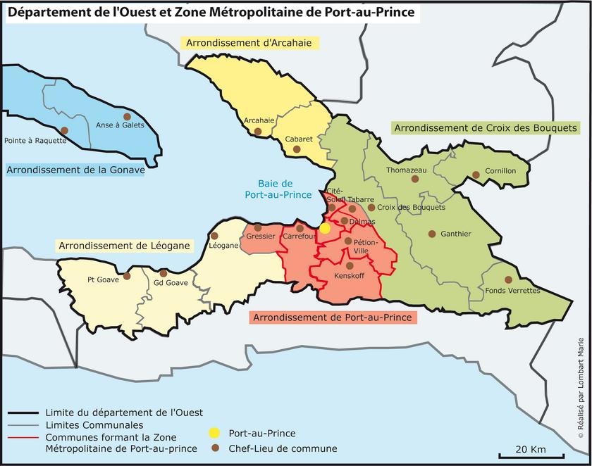 Ouest, Haiti | Haiti Local | FANDOM powered by Wikia