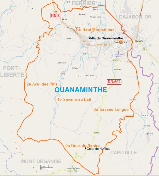 Ouanaminthe MAP