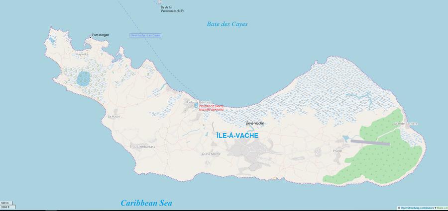Ile a Vache MAP