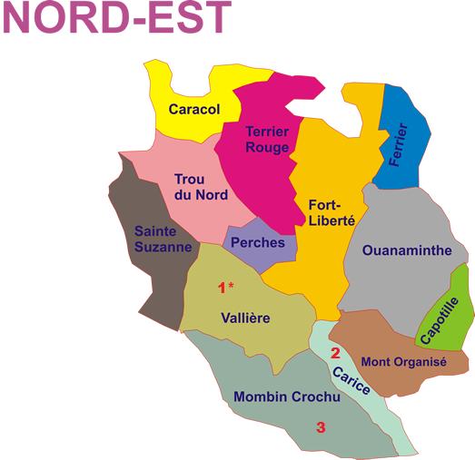 Nord est haiti