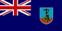 Montserrat flag large