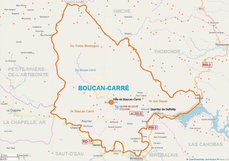 Boucan carre Map