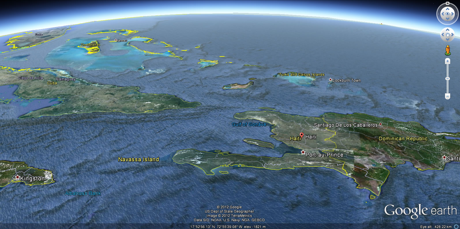 Geography of haiti haiti local fandom powered by wikia map of haiti gumiabroncs Image collections