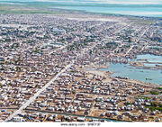 Aerial-view-of-gonaives-haiti-bnky3f