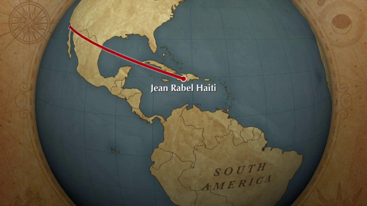 Location in the Western Hemisphere Jean Rabel