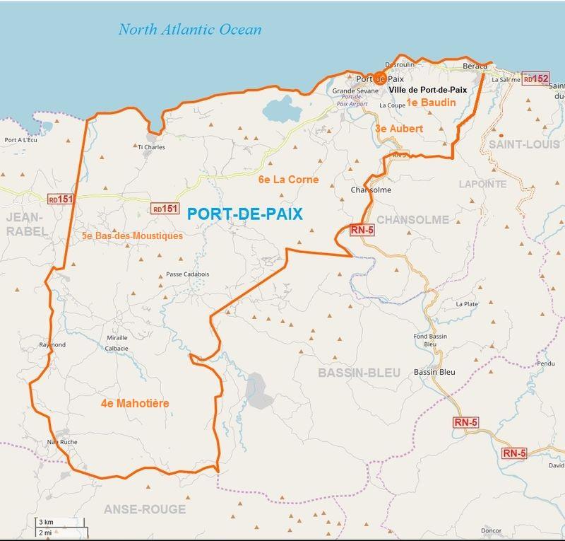 Port de Paix MAP