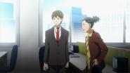 Anime Season 1 Episode 01 Screenshot Saitoh and Nguyen