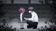 Mutsuki and Dousetsu parting