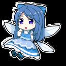 Blue Frilly Fairy Sprite