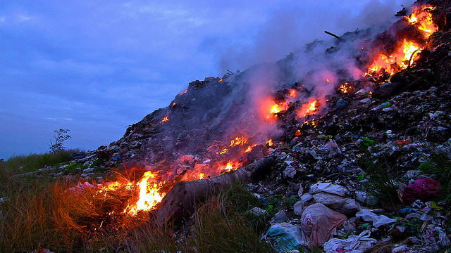 File:Trash Heap Burning.jpeg
