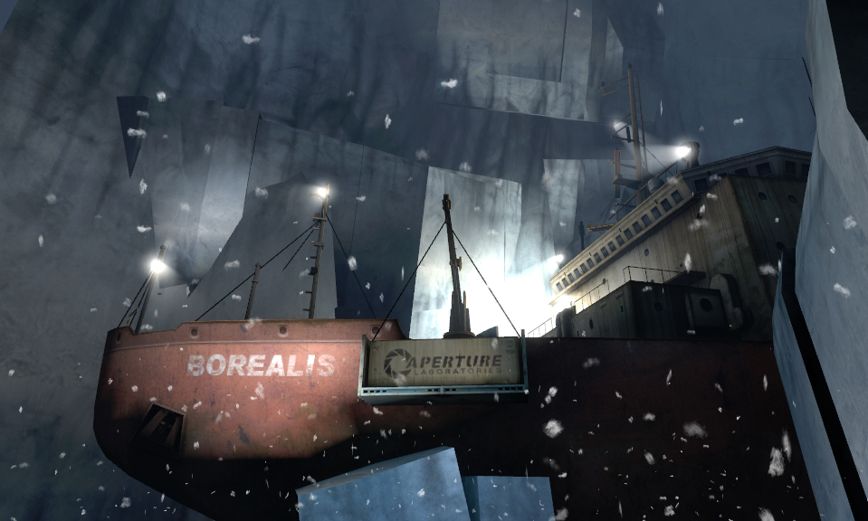Borealis half life wiki fandom powered by wikia malvernweather Gallery