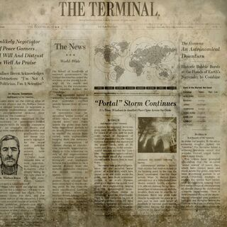 Newspaper texture 1 in <a href=
