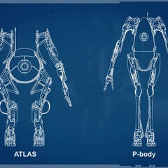 ATLAS and P-body blueprints, as seen in the video <i><a rel=