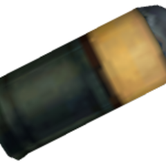A different model for the OICW's grenade. It is a 40mm grenade used by NATO forces.