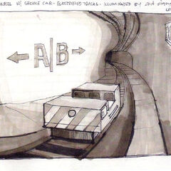 Concept art for the Black Mesa Transit System.