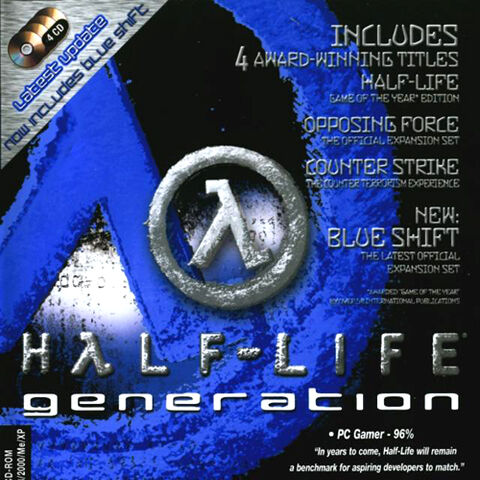 <i>Blue Shift</i> edition cover.