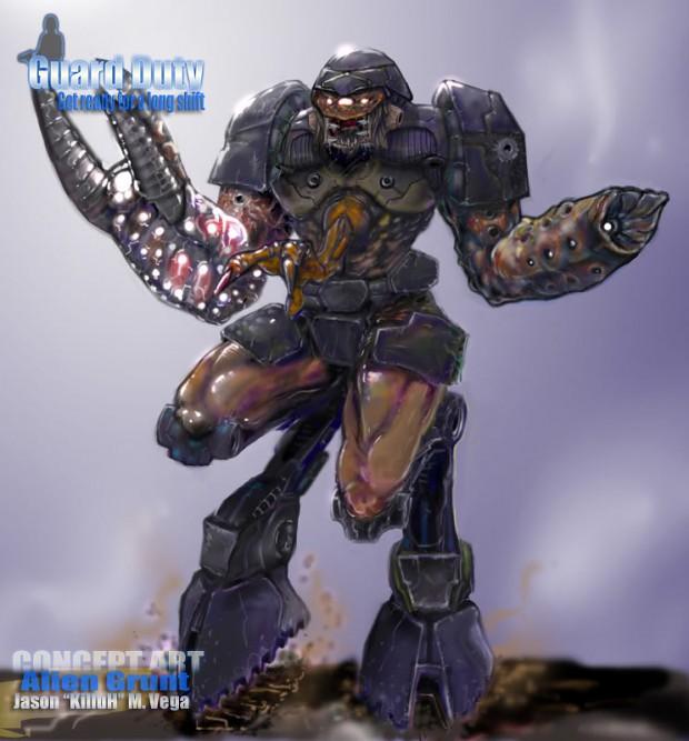 Image - Alien Grunt Concept.jpg | Half-Life Wiki | FANDOM ...