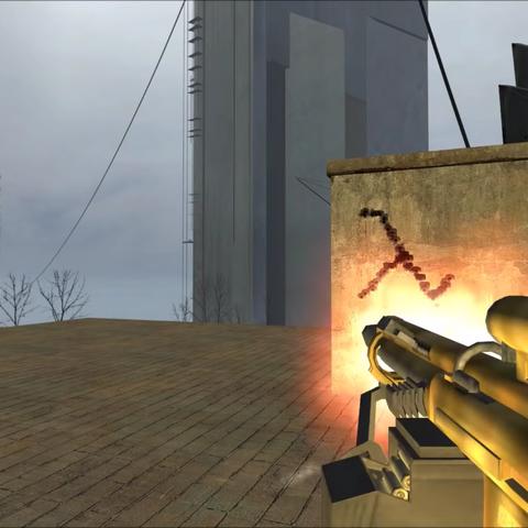Original firing animation of the GR9.