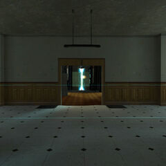 Hallway leading to a <a href=