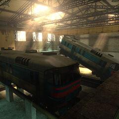 DR1 DMU railcars in the <a href=
