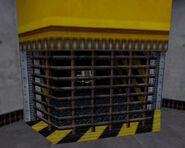Cart in lift