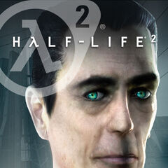 The G-Man on an alternate cover of <i>Half-Life 2</i>.