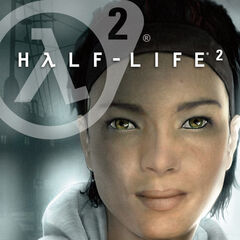 Alyx on an alternate cover of <i>Half-Life 2</i>.