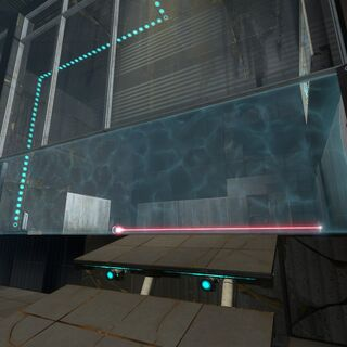 The grill in Test Chamber 08 of <a href=