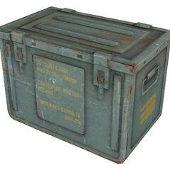 Ammo box model.