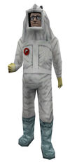 Scientist clean suit multi