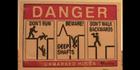 Glados screens sign danger