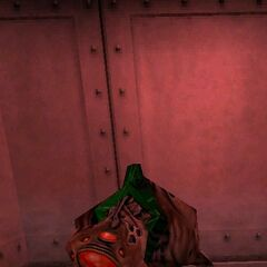 First hostile Vortiguant encountered in <i>Half-Life</i>.