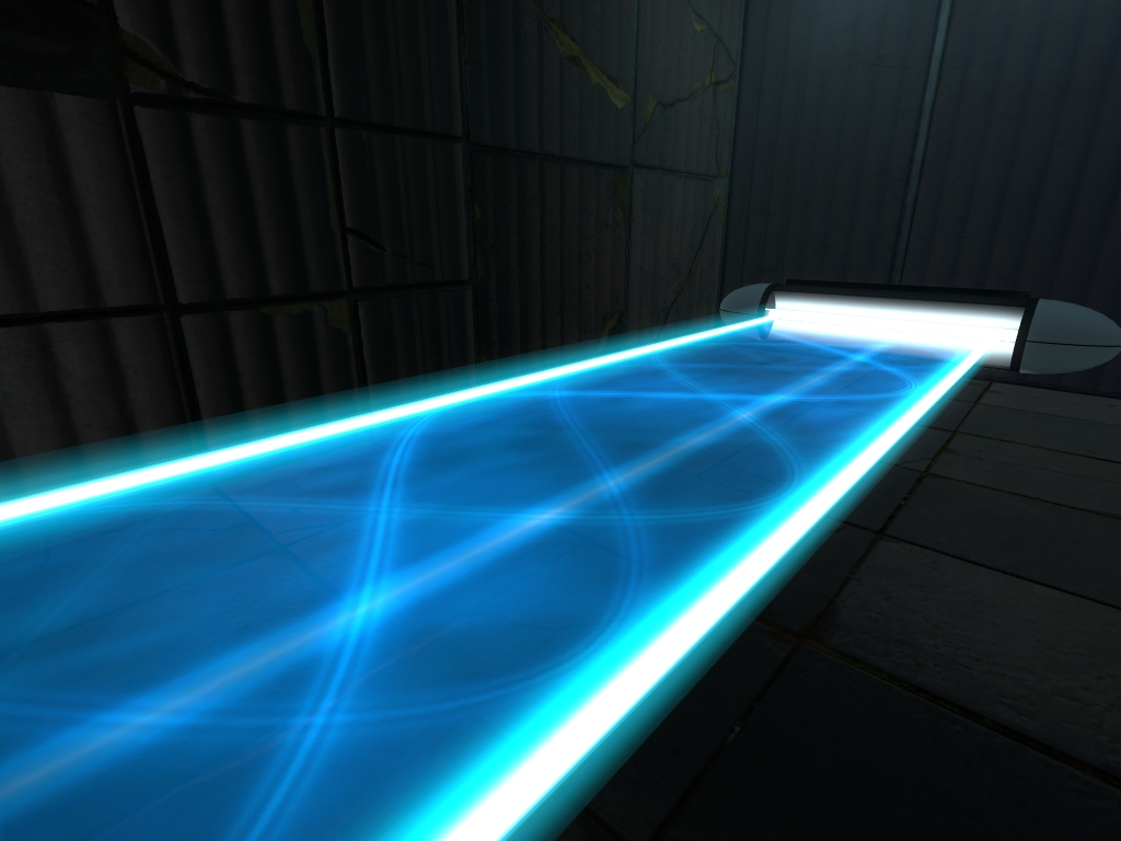 Aperture Science Hard Light Bridge Half Life Wiki