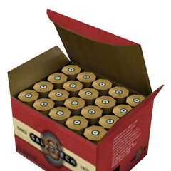 Box of shotgun shells.