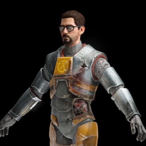Gordon's in-game model.