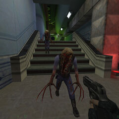 Security guard Zombies.