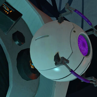 The Morality Core attached to GLaDOS.
