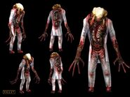 Zombie render