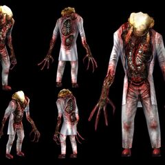 Zombie concept models from <i><a href=