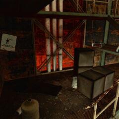 The third Ratman den, near Test Chamber 18.