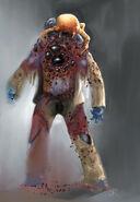 Zombie blobs