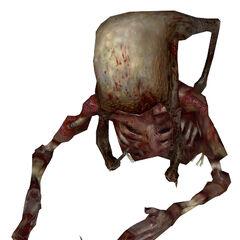 Fast Zombie torso.