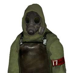 Fan-made gas mask Citizen model, based on textures of the missing model